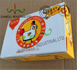 Çin Double Wall Cardboard Food Packaging Boxes , Disposable Cardboard Burger Boxes Fabrika